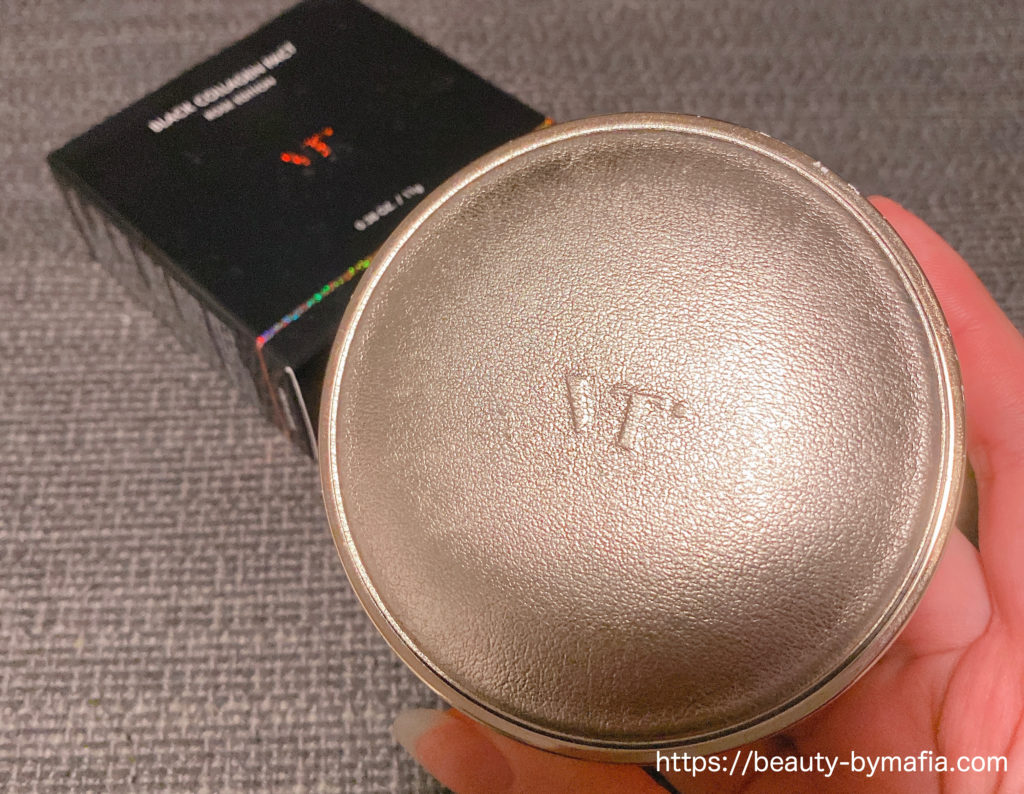 VT Cosmetics(ブイティー コスメティクス)ブラック コラーゲンパクト ローズエディション