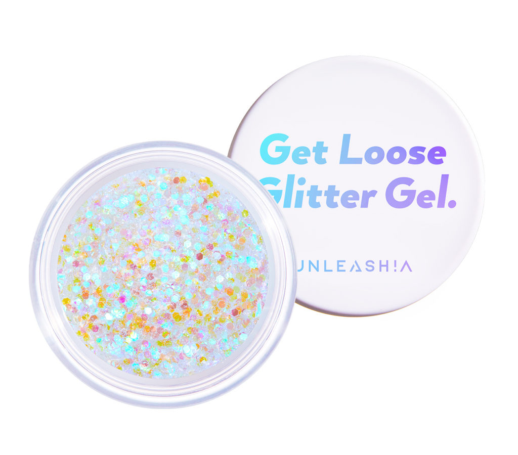 UNLEASHIA(アンレシア)のGet Loose Glitter Gel N°1 Aurora Catcher(ゲットルースグリッタージェル オーロラキャッチャー)