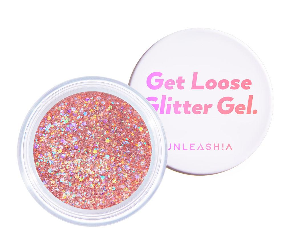 UNLEASHIA(アンレシア)のGet Loose Glitter Gel N°4 Love Dreamer(ゲットルーズグリッタージェル ラブドリーマー)
