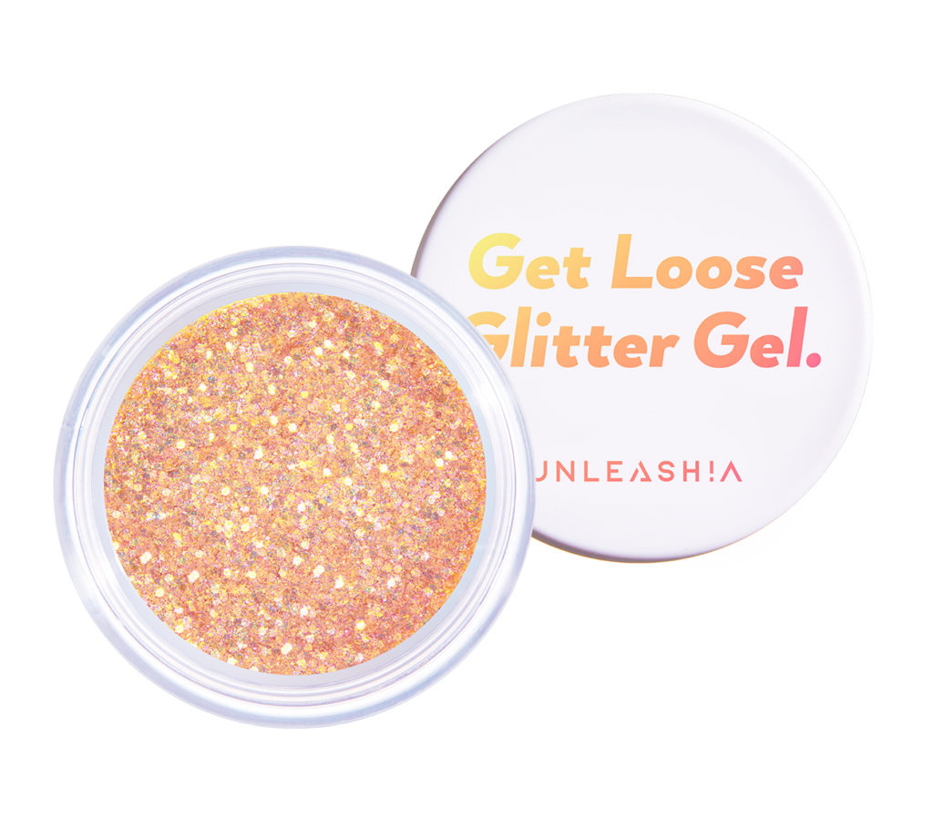 UNLEASHIA(アンレシア)Get Loose Glitter Gel N°6 Sunset Lover(ゲットルーズグリッタージェル サンセットラバー)