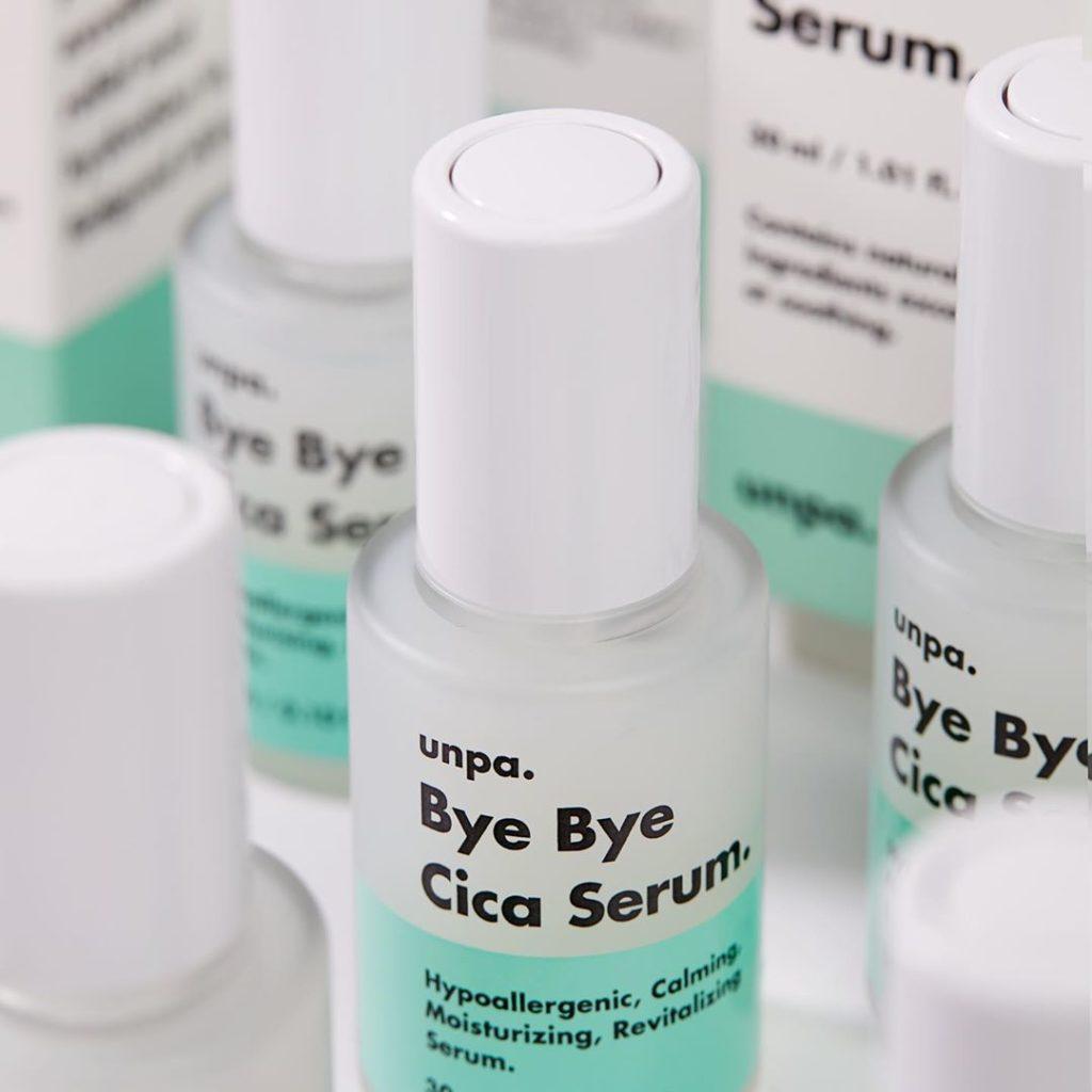 unpa. Cosmetics(オンパコスメティクス)のBye Bye Cica Serum(バイバイシカセラム)