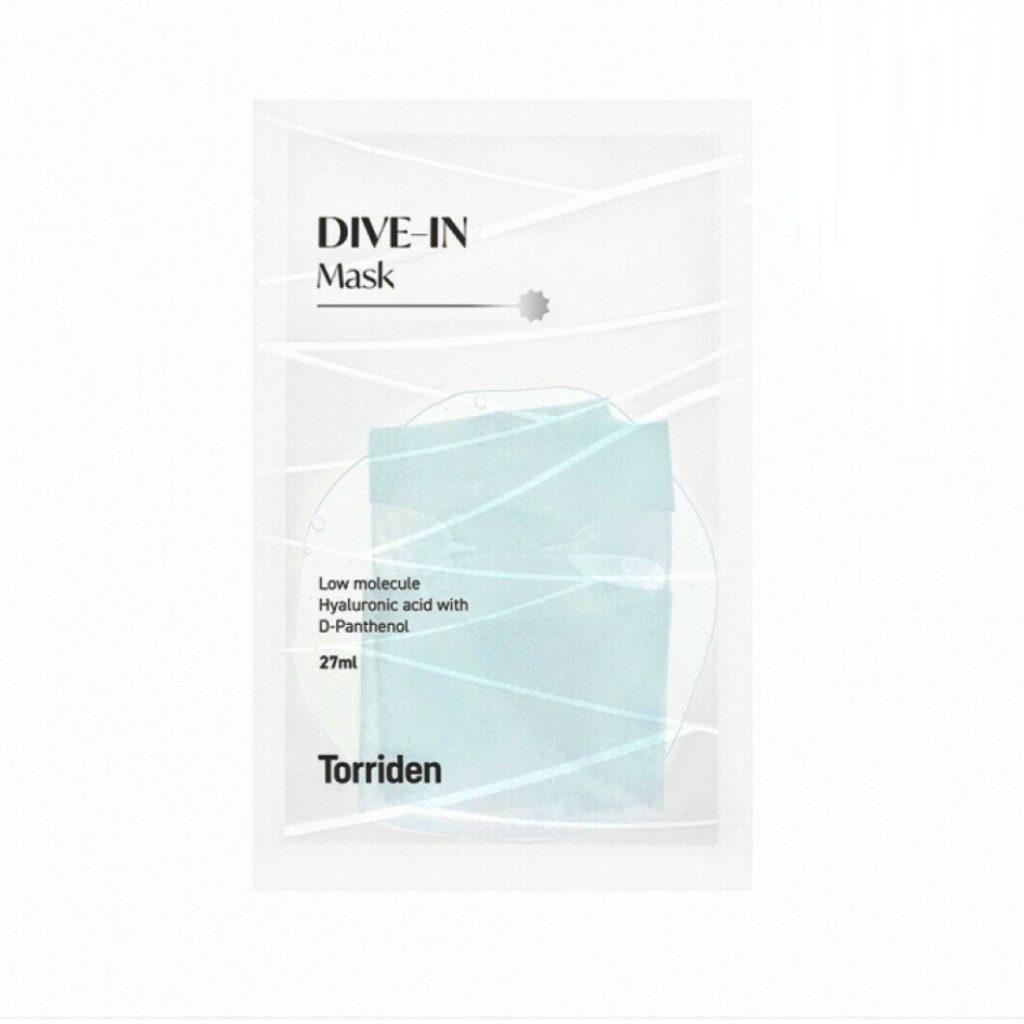 Torriden(トリデン)DIVE-IN Mask(ダイブイン低分子ヒアルロン酸マスク)